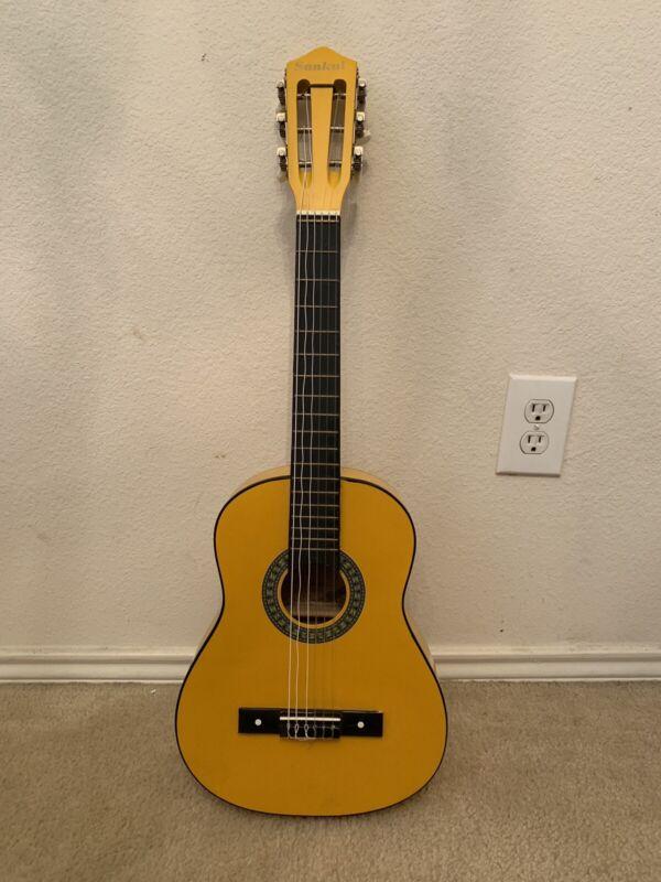 Antique Sankai 1/2 Scale Classical Acoustic Guitar