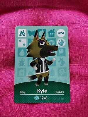 Animal Crossing amiibo Card Kyle New Horizons