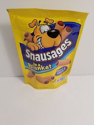 Snausages In A Blanket Beef & Cheese Flavor Chewy Dog Treats Flavored Chewy Dog Treats