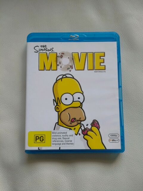 The Simpsons Movie Bluray Cds Dvds Gumtree Australia Stirling Area Dianella 1254971034