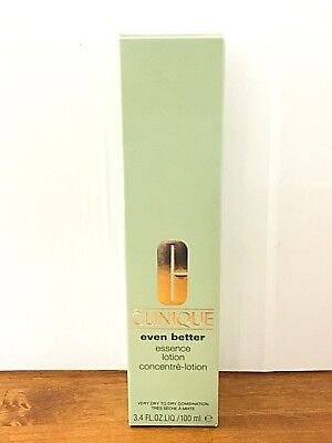 Clinique Even better Essence Lotion 3.4 Oz Very dry to dry combination