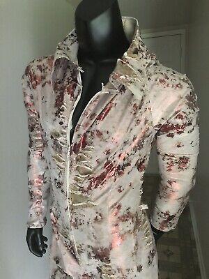 Elvis Costume Day Of The Dead Zombie Jumsuit Men's Size M/L NWT  (Dead Elvis Kostüm)