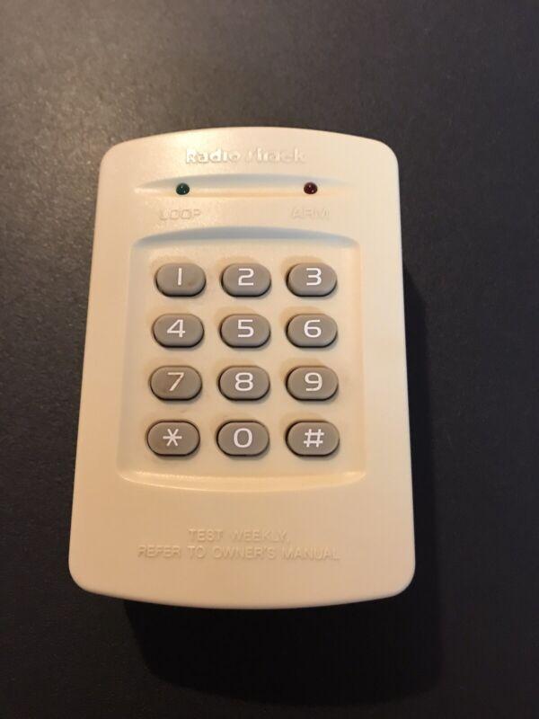 Safe House Alarm Radio Shack 49-452 Digital Keypad