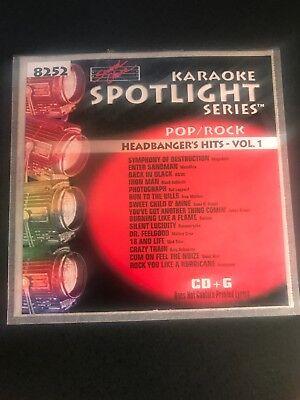 Sound Choice Karaoke Spotlight Series SC 8252 Headbangers (Sound Choice Spotlight)