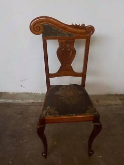 B23060 Gorgeous Mahogany Carved Dining Chair Mount Barker Mount Barker Area Preview