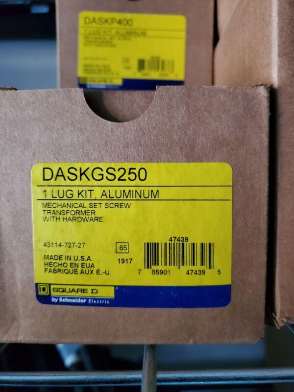 SQUARE D DASKGS250 LUG KIT ALUMINUM