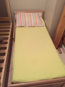 Ikea kid bed frame with matterrass