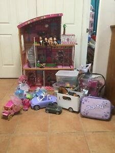 Dollhouse and loads of accessories
