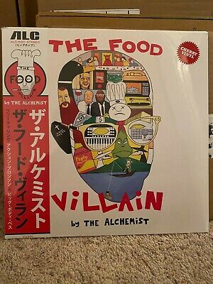 The Alchemist Food Villain limited Cherry OBI vinyl LP sold out