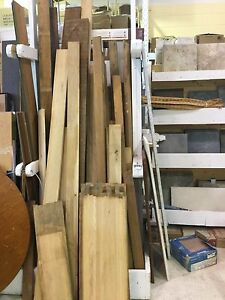 Rough-cut hardwoods