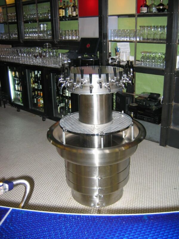 US Patent for sale # 7,635,069 apparatus for distributing a beverage, beer tower
