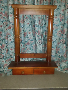Dresser mirror stand with draws Cherrybrook Hornsby Area Preview