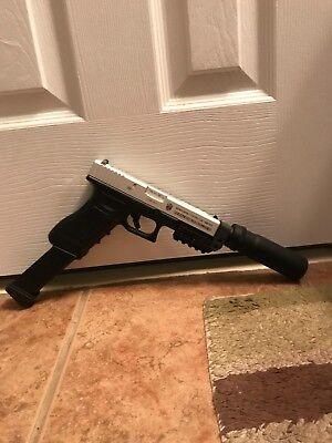 TM Airsoft AEP Pistol with custom metal slide