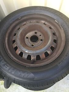 14inch rims and tyres size 185/65/14 set of 4 Padstow Bankstown Area Preview