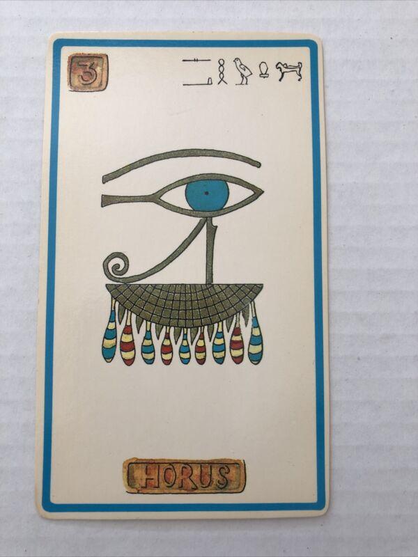 Cartouche Horus Card 3 Single Card Only No Box