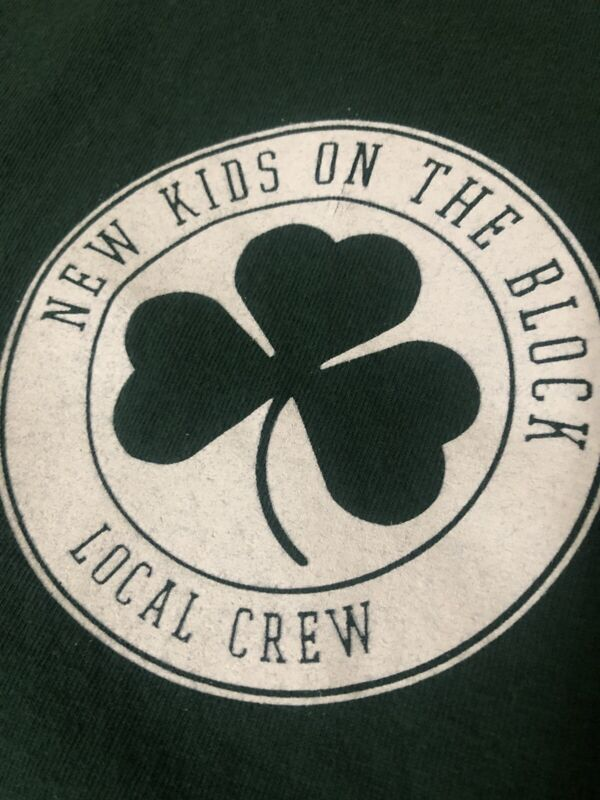New Kids on the Block t-shirt vintage Large