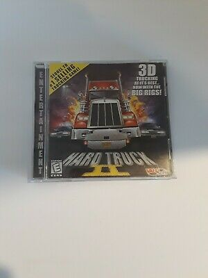Hard Truck II 2 PC CD Game 3D TRUCKING WITH BIG RIGS Valu Soft 1998 Big Rig Truck Games