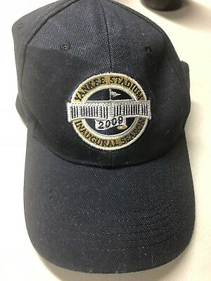 7a7785a00 New York Yankees Yankee Stadium Inaugural Hat giveaway New