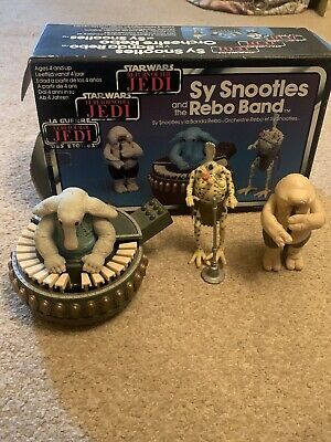 Rare vintage star wars Sy Snootles and the Rebo Band