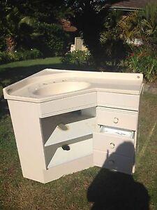 Bathroom vanity - Ivory Rosemeadow Campbelltown Area Preview