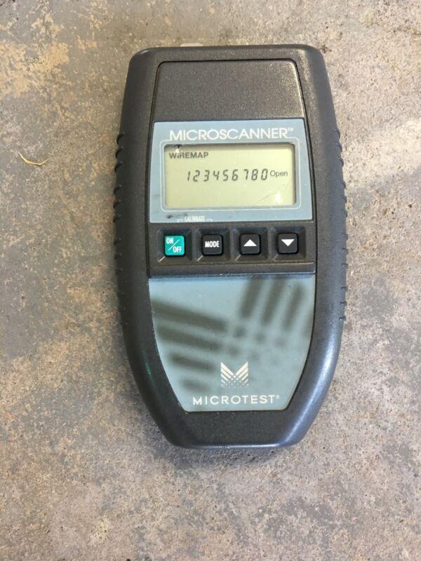 Fluke Microtest MicroScanner Proscanner Cable Wiremap Toner 2947-4000-02 E05