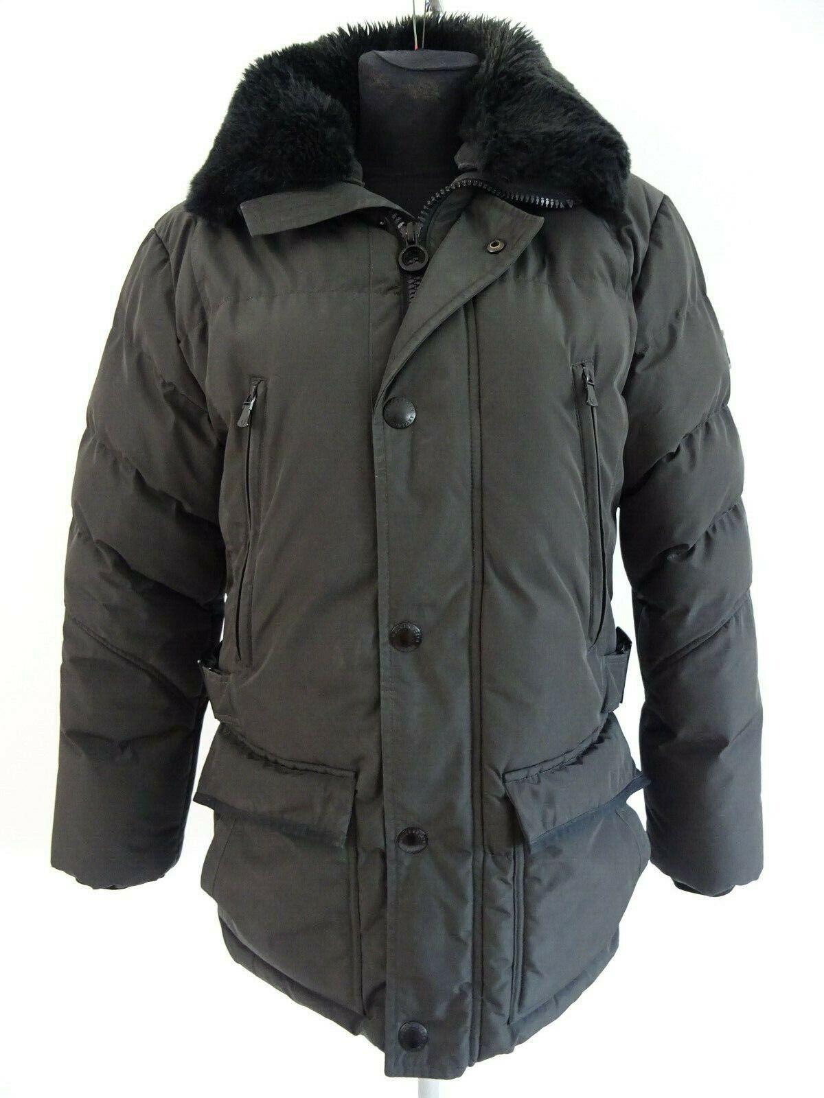 huge discount official shop get new Wellensteyn Berry Hills Herren Jacke Winterjacke mit Webpelz Gr. S Graphit    eBay