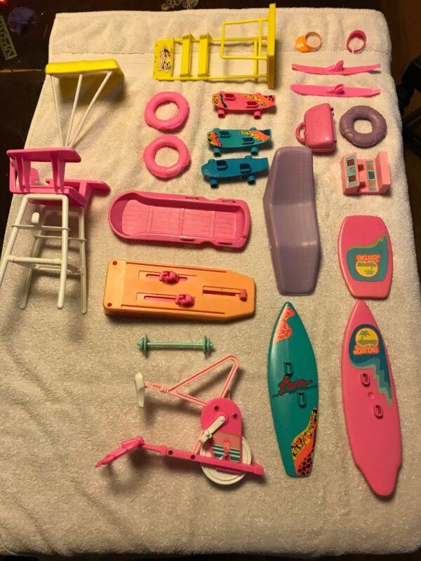 VINTAGE Barbie Accessories Used As Is (PLEASE READ )