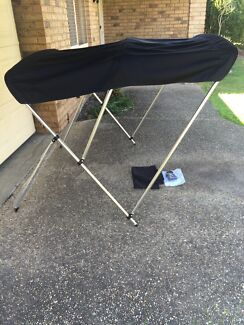Brand new never used 3 Bow Black Boat Bimini Top Canopy Loganholme Logan Area Preview