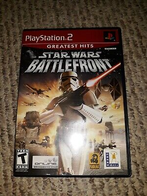 Star Wars: Battlefront (Sony PlayStation 2, 2004) PS2