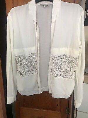 IRO cream Summer Jacket Size 36 12 / 14