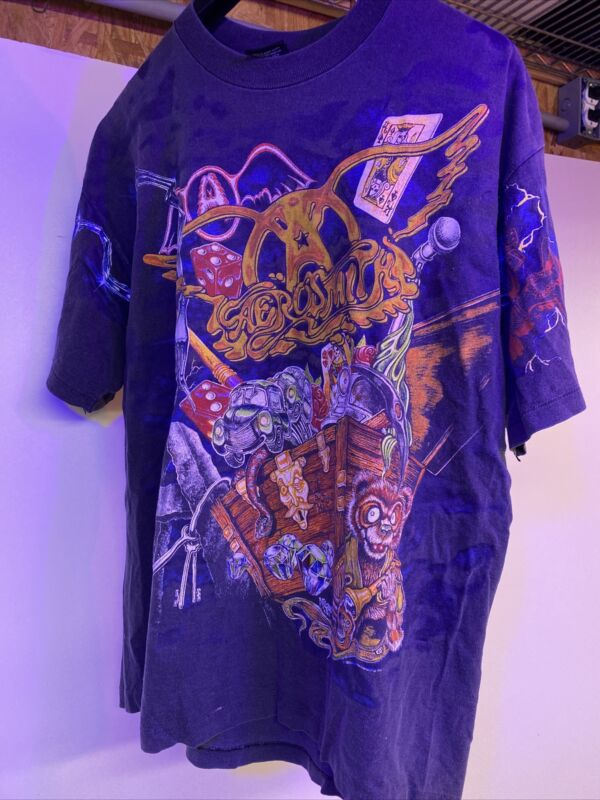 Aerosmith 1993 Toys In The Attic T Shirt  XL