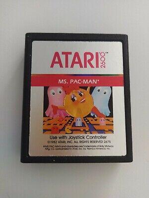 Ms Pac-Man - Atari 2600 / VCS - WORKING/DECENT CONDITION