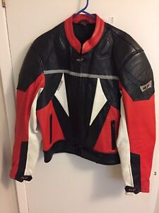 "Used ""HLF"" motorcycle jacket (with no liner)"