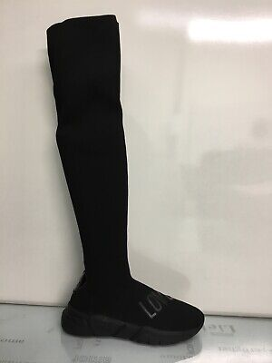LOVE MOSCHINO black Running Boots Size Us9 40
