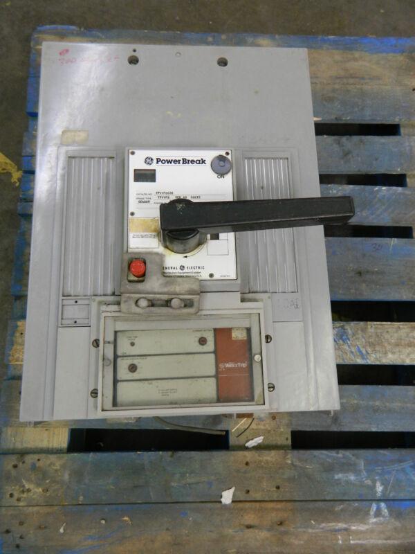 Ge Powerbreak Tpvvf8630 3000a 3000 A Amp Circuit Breaker Versa Trip 3p 3 Pole