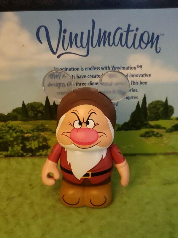 """DISNEY Vinylmation 3"""" Park Set 3 Animation Grumpy Seven Dwarves"""