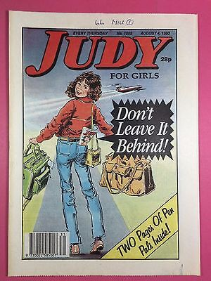 JUDY - Stories For Girls - No.1595 - August 4, 1990 - Comic Style Magazine