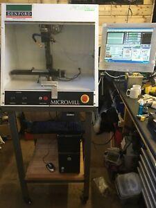 Denford Micromill CNC Milling Machine, Mach3, Gecko G540
