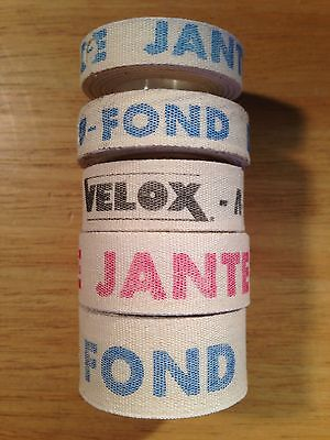 NEW Velox Cloth Rim Tape Fond De Jante ALL SIZES 10-13-16-19-22mm for 26/700C/27