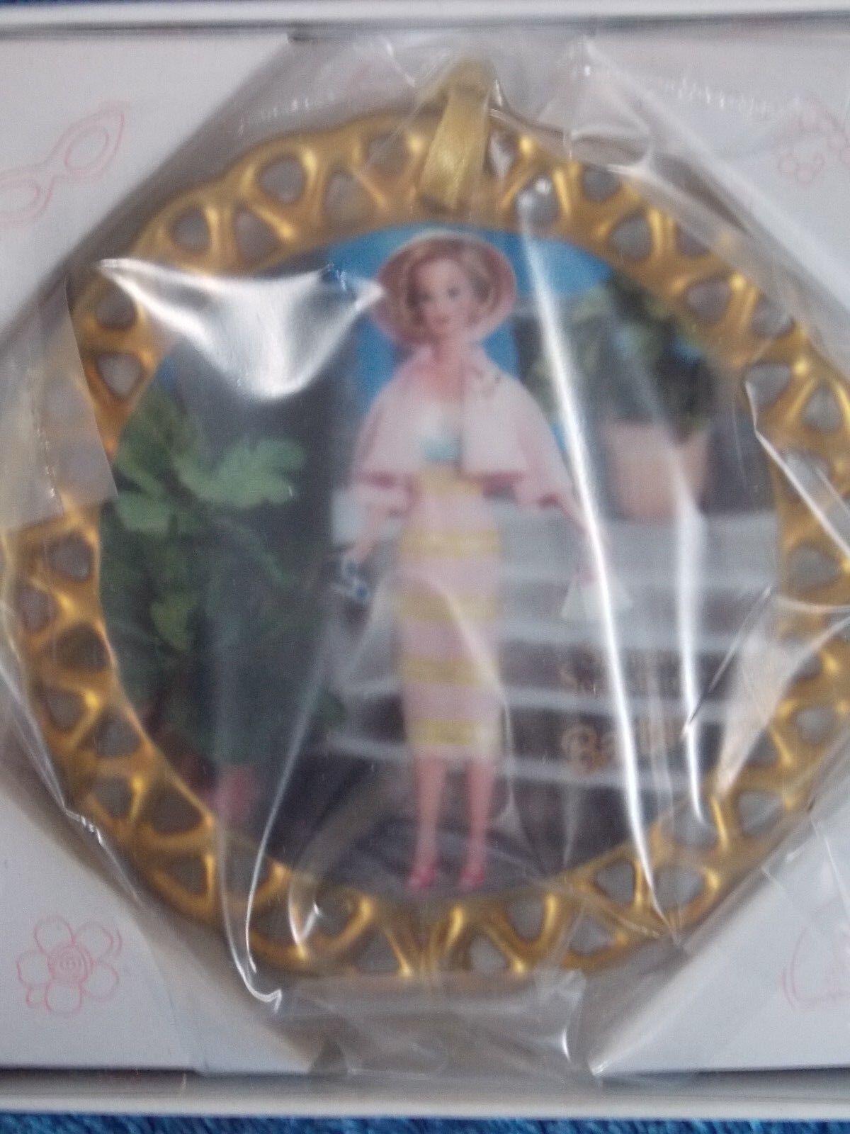 New 1996 Enesco Barbie Summer Sophisticate Ornament