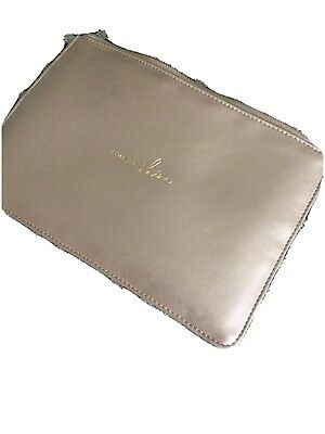 Small Clutch Bag By Katie Loxton. Pinky Gold Shimmer