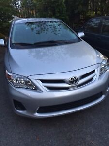 Toyota Corolla 2011 ( only seulement 18700 km)