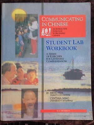 Communicating in Chinese : A Series of Exercises for Listening Comprehension...