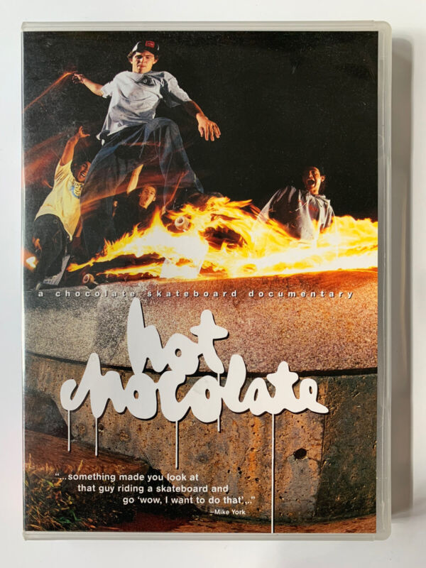 2004 Hot Chocolate DVD Skate Video Skateboard - Keenan Forever
