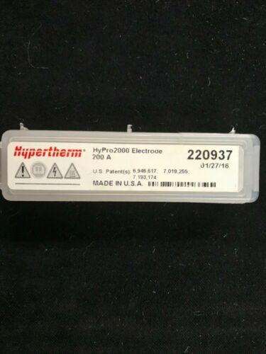 GENUINE HYPERTHERM 220937 ELECTRODE