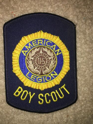 Boy Scout BSA United States American Legion Sponsored Troop Charter Patch