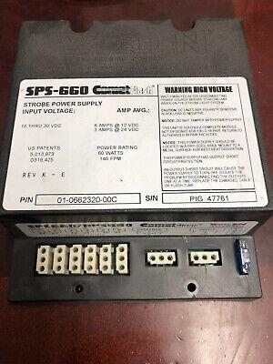 Whelen Sps-660 Cometflash Sps660 Head Strobe Box Power Supply
