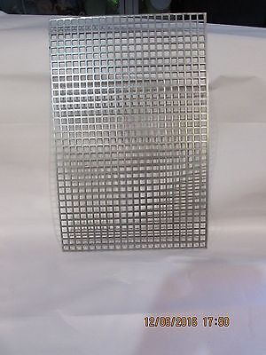 38 Square Hole Carbon Steel Perforated Sheet 5 X 5