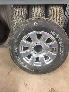 "275/65/20 Michelin LTX on 20""x8.5"" 2017 Ford Super Duty Rims"