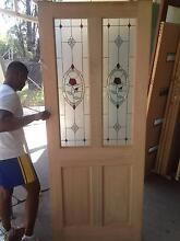 Corinthian Rose Stained Glass Entrance Door (LOT:s273) St Marys Penrith Area Preview